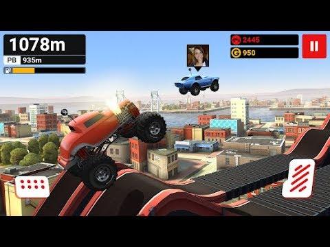 Hill Dash - проходим гонки на большой машинке