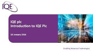 iqe-investor-presentation-mello-18th-january-2016-18-01-2016