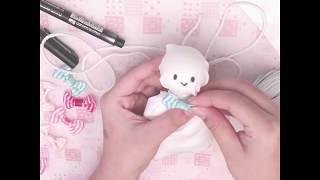 วิธีทำตุ๊กตาไล่ฝน น่ารักๆ