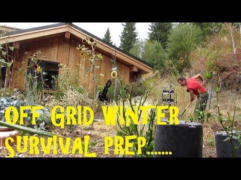 Off Grid Living SURVIVING WINTER: HOW WE PREPARE