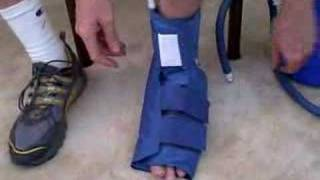 Video: Aircast Ankle Cryo Cuff with Cooler