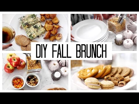 How to Brunch at Home! Easy, Healthy + Inexpensive