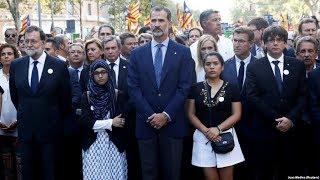 Теракт в Барселоне. Как год спустя сторонники отделения Каталонии встретили Фелипе VI?