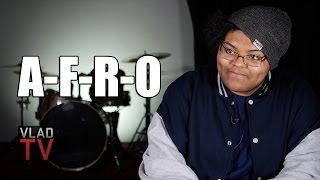 A-F-R-O on Recording First Songs at 13, Initial Attraction to 90's Hip-Hop