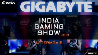 AORUS INDIA | India Gaming Show 2018 Bangalore
