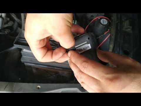 установка китайского  gps трекера на любой автомобиль своими руками