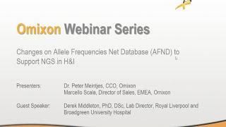 Webinar - Changes on AFND to Support NGS in H&I