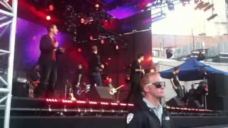 "Backstreet Boys ""Breathe"" on Jimmy Kimmel Live"