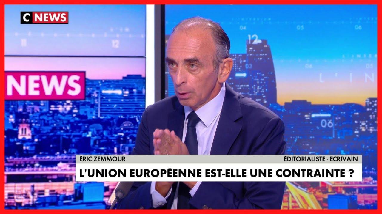 ÉRIC ZEMMOUR : «JE SUIS LE SEUL» à pouvoir battre Emmanuel Macron