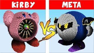 Super Smash Bros. Ultimate vs. Minecraft - (Kirby vs Meta Knight)