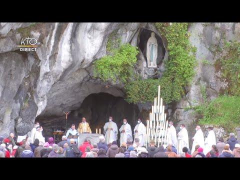 Messe de 10h à Lourdes du 25 mars 2021