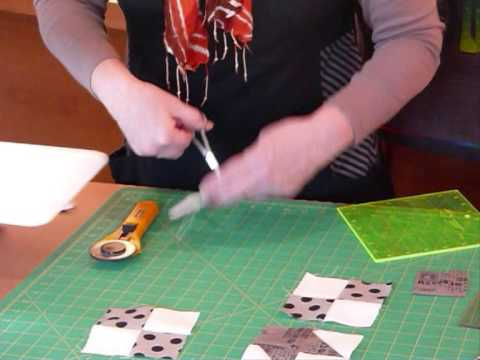 How to make a Road to Oklahoma block using 2 1/2″ squares ...