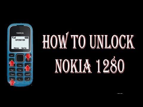 how to unlock nokia 1280 security code/reset security/unlock password code in urdu 2018
