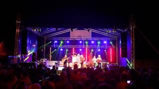 preview picture of video 'Święto Gminy Łapanów 2014 - Czerwone Gitary (oświetlenie sceny)'