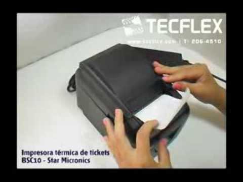 TECFLEX - Impresora termica de tickets económica - Star BSC10