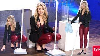 Bei Katie Steiner glänzt der Boden richtig! Bei PEARL TV (Januar 2020) 4K UHD