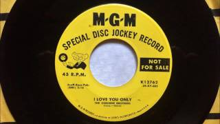 Give This Message To Your Heart - I Love You Only , The Osborne Brothers , 1959