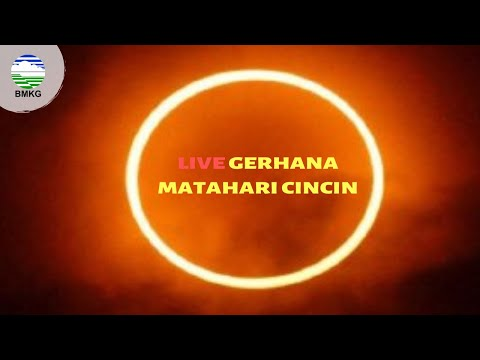 LIVE GERHANA MATAHARI CINCIN 26 /12 2019 BMKG - BANDA ACEH