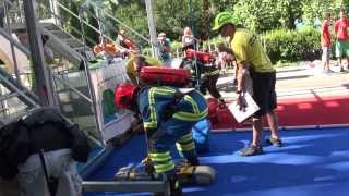 preview picture of video 'International Firefighter Combat Challenge in Slovenia (Bled)'