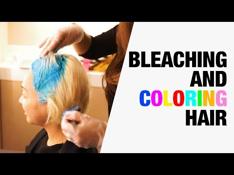 How to Dye Black Hair Blue | Chictopia
