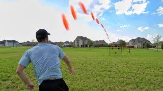 Frisbee Target Trick Shots   Brodie Smith
