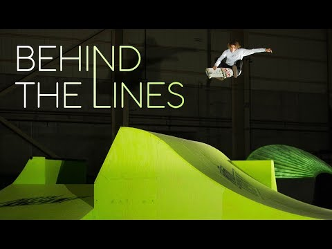 Curren Caples's Dream Skatepark | Mountain Dew Behind The Lines