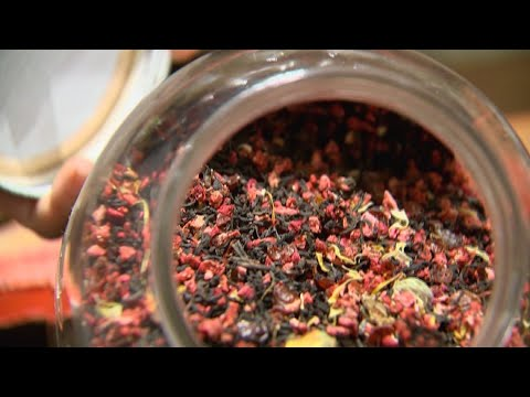 Spices from around the world inside Pike Place Market - KING 5 Evening