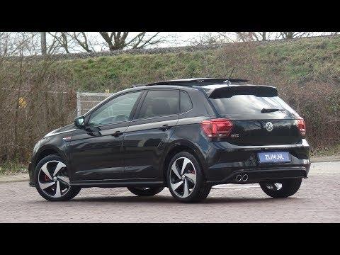 English review NEW VW Polo GTI 2019 Deep Black Pearl 17 inch Milton Keynes