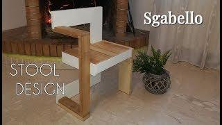 Sgabello Con Pallet : Sgabelli fai da te riciclando palletts by paolo brada diy Самые