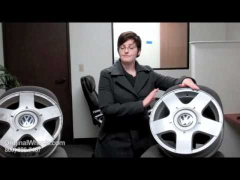 Rabbit Rims & Rabbit Wheels - Video of Volkswagen Factory, Original, OEM, stock new & used rim