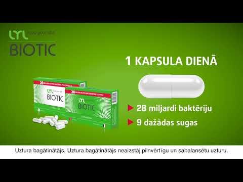 LYLBIOTIC, 14 kapsulas