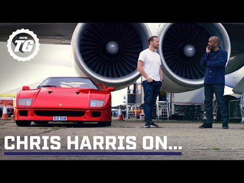 Chris Harris on… Ferrari F40 & Jaguar XJ220 | Top Gear: Series 29