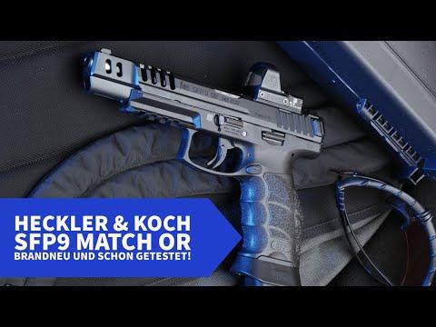heckler-und-koch: Exklusiv für Sie getestet: Die neue Heckler & Koch SFP9 Match OR – was leistet die neue Sportpistole?