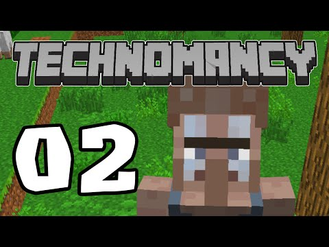 Technomancy Ep.2-NEW VILLAGERS!