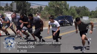Nevada Department of Public Safety Hiring Event Carson City 8-2020