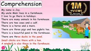 Comprehension | English | Grade-1,2 | Tutway |