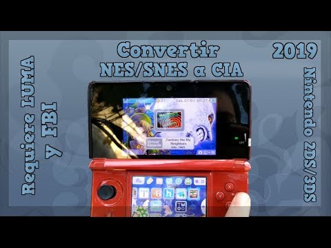 How to create snes cia for OLD3DS - смотреть онлайн на Hah Life