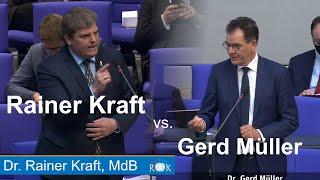 Gerd Müller: Ein Minister im Dampfplaudermodus