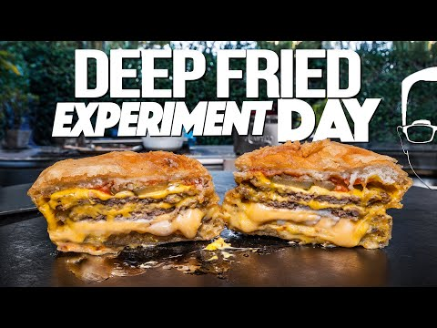 DEEP FRIED EXPERIMENT DAY | SAM THE COOKING GUY
