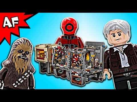 Vidéo LEGO Star Wars 75180 : L'évasion des Rathtar