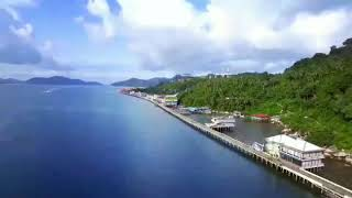 preview picture of video 'Tarempa, Anambas Islands'