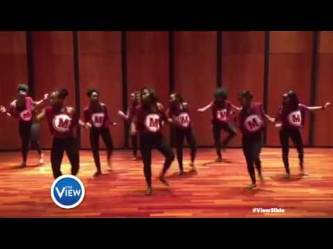 Mahogany-n-Motion at Spelman College Rock The #ViewSlide | The View