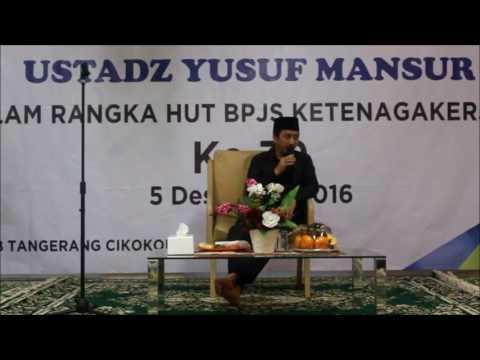 Tausiyah Ust  Yusuf Mansur 201 BPJS Ketenagakerjaan Cikokol