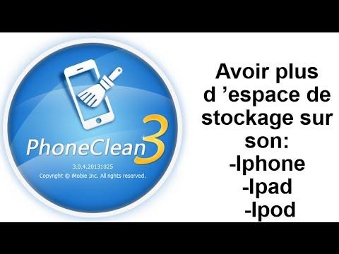 Comment gagner de l espace de stockage sur iphone