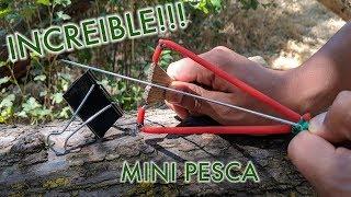 Resortera - Mini Arpon De Clip Para Papel!