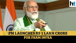 Rs 1 lakh crore: To counter Covid-caused slowdown, PM Modi launches agri fund - Download this Video in MP3, M4A, WEBM, MP4, 3GP