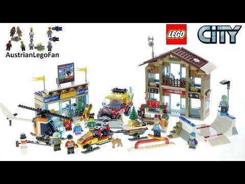 Vidéo LEGO City 60203 : La station de ski