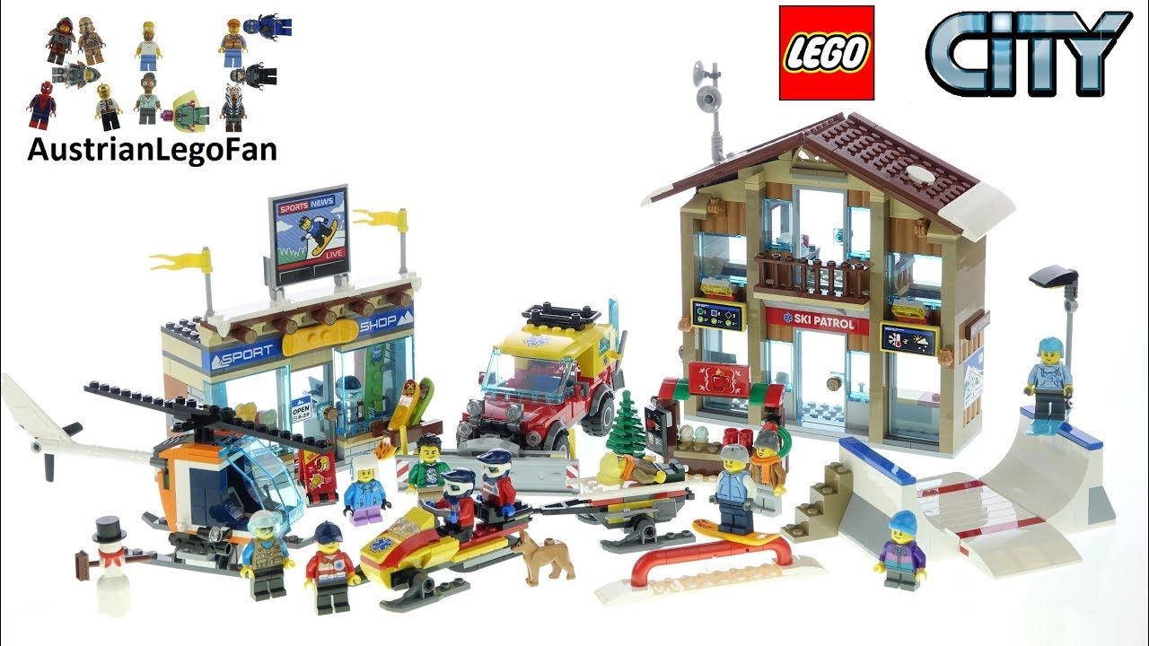 Lego City 60203 Ski Resort - Lego Speed Build Review