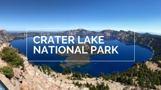 CRATER LAKE NATIONAL PARK Tour & Hike In OREGON | Oregon Travel | RV Travel | National Parks
