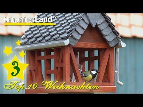 Vogelhaus aus Fachwerk mit Regenrinne in Handarbeit - Top 10 der besten Geschenkideen